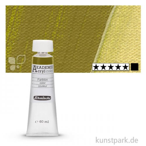 Schmincke AKADEMIE Acrylfarben 60 ml Tube   558 Olivgrün