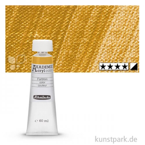 Schmincke AKADEMIE Acrylfarben 60 ml Tube   801 Gold