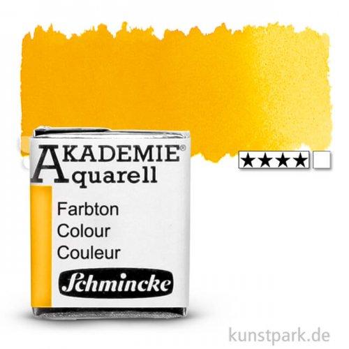 Schmincke AKADEMIE Aquarellfarben 1/2 Napf | 225 Indischgelb