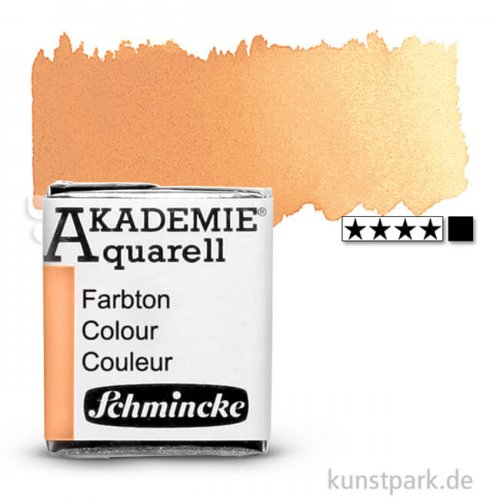 Schmincke AKADEMIE Aquarellfarben 1/2 Napf | 226 Neapelgelb