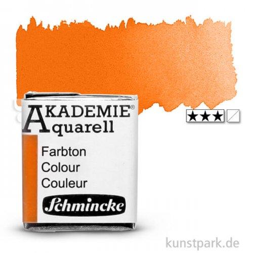 Schmincke AKADEMIE Aquarellfarben 1/2 Napf   330 Orange