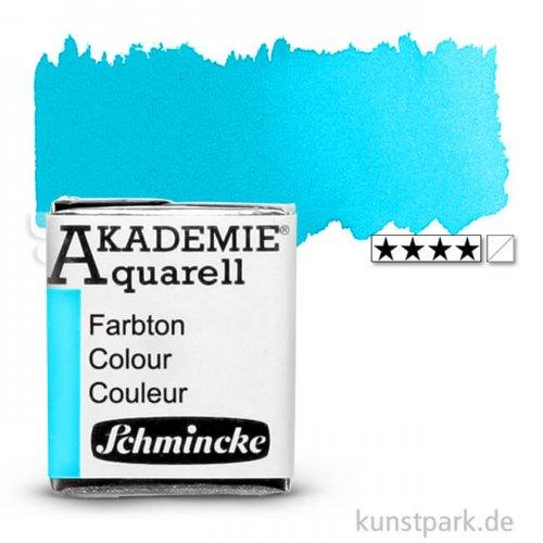 Schmincke AKADEMIE Aquarellfarben 1/2 Napf | 448 Cyan
