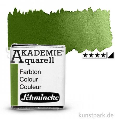 Schmincke AKADEMIE Aquarellfarben 1/2 Napf | 554 Oliv Gelbgrün
