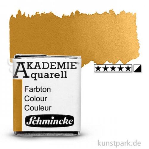 Schmincke AKADEMIE Aquarellfarben 1/2 Napf   660 Lichter Ocker