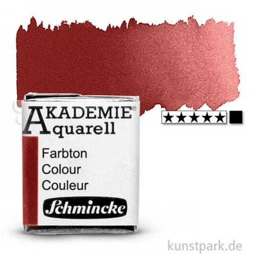 Schmincke AKADEMIE Aquarellfarben 1/2 Napf | 666 Englischrot