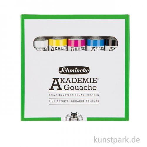 Schmincke AKADEMIE Gouache Primärfarben-Set, 5 x 20 ml