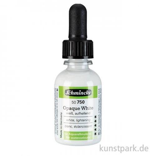 Schmincke AQUA Drop Opaque White 30 ml