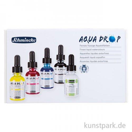 Schmincke AQUA Drop Set, Basic, 5 x 30 ml