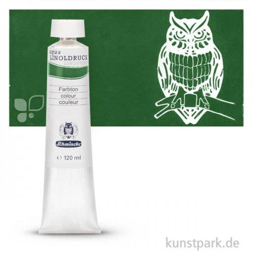 Schmincke AQUA Linoldruck Einzelfarben 120 ml | 530 Chromoxydgrün