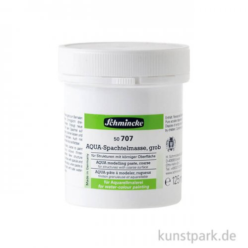 Schmincke AQUA-Spachtelmasse grob, 125 ml