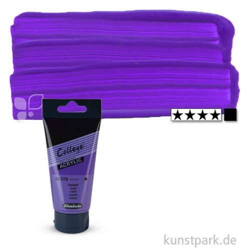 Schmincke COLLEGE Acrylfarben 75 ml Tube | 370 Violett