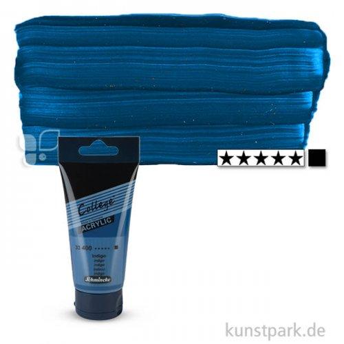 Schmincke COLLEGE Acrylfarben 75 ml Tube | 400 Indigo
