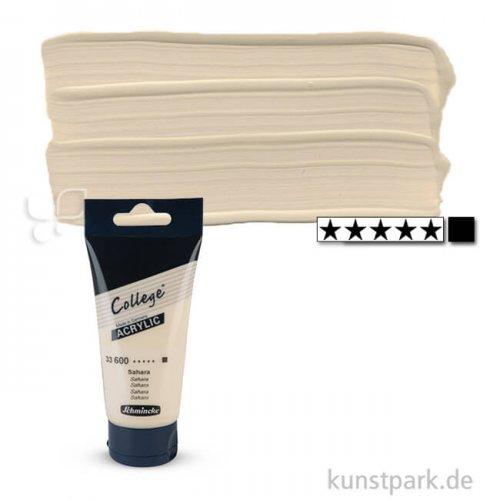 Schmincke COLLEGE Acrylfarben 75 ml Tube   600 Sahara