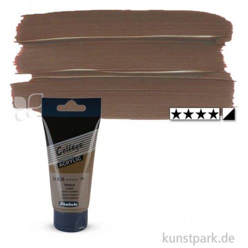 Schmincke COLLEGE Acrylfarben 75 ml Tube   635 Umbra