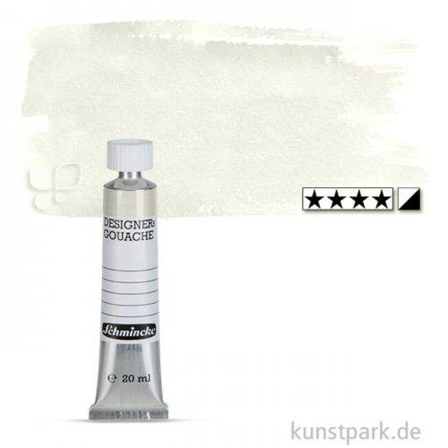 Schmincke HKS Designer Gouache 20 ml Tube | 198 Mischweiß