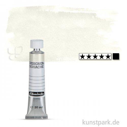 Schmincke HKS Designer Gouache 20 ml Tube   199 Deckweiß