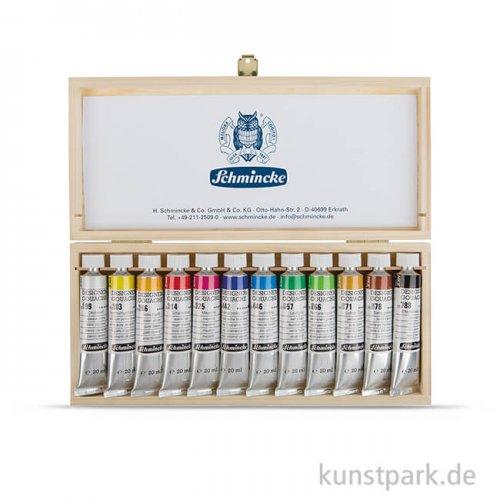 Schmincke Designers Gouache, Holzkasten, 12 x 20 ml