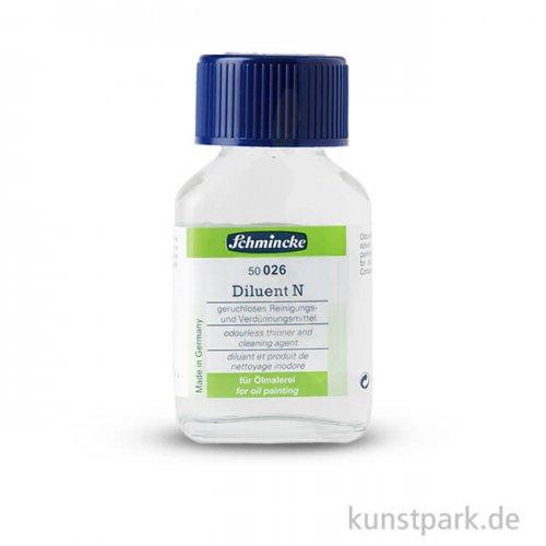 Schmincke Diluent N, geruchloser Verdünner 60 ml