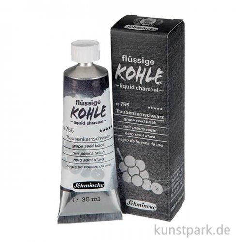 Schmincke Flüssige Kohle Traubenkernschwarz 35 ml