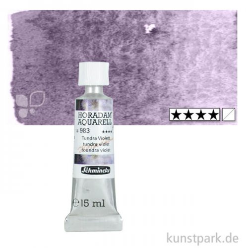 Schmincke Horadam Aquarell - Supergranulierend 15 ml Tube   Tundra Violett