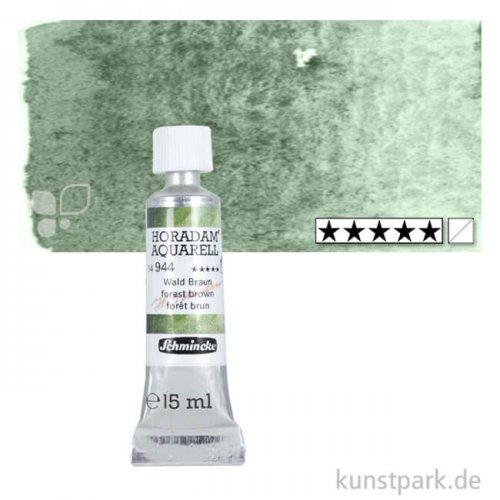 Schmincke Horadam Aquarell - Supergranulierend 15 ml Tube | Wald Braun