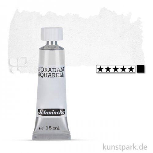Schmincke HORADAM Aquarellfarben Tube 15 ml | 101 Titan Deckweiß