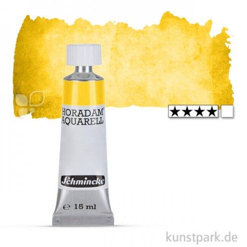 Schmincke HORADAM Aquarellfarben Tube 15 ml   209 Lasurgelb