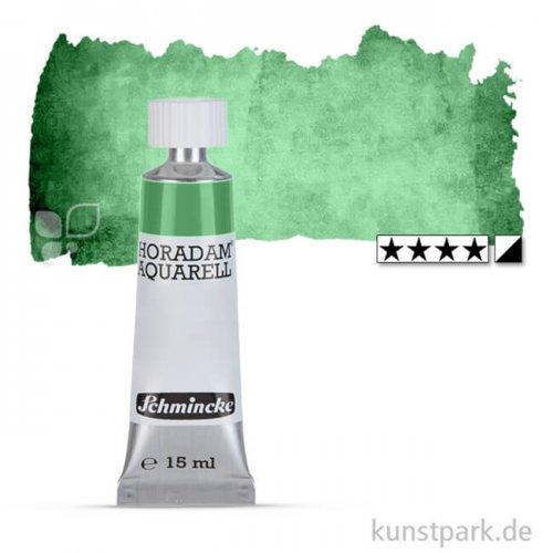 Schmincke HORADAM Aquarellfarben Tube 15 ml | 534 Permanentgrün oliv