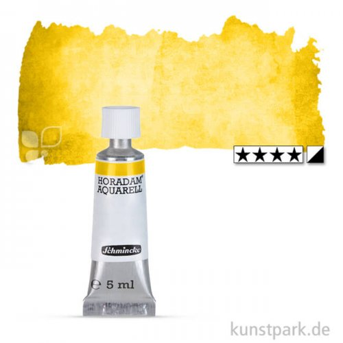 Schmincke HORADAM Aquarellfarben Tube 5 ml   225 Kadmiumgelb mittel