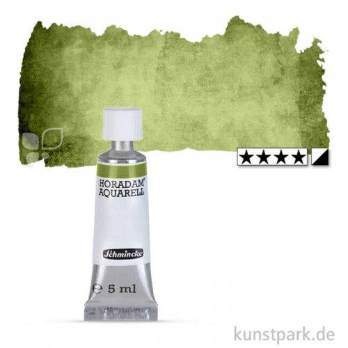 Schmincke HORADAM Aquarellfarben Tube 5 ml   525 Olivgrün gelblich