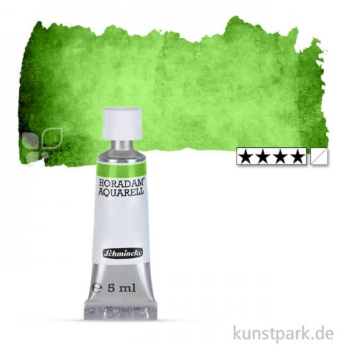 Schmincke HORADAM Aquarellfarben Tube 5 ml | 526 Permanentgrün