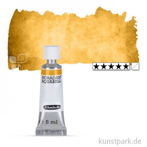 Schmincke HORADAM Aquarellfarben Tube 5 ml | 656 Lichter Ocker natur