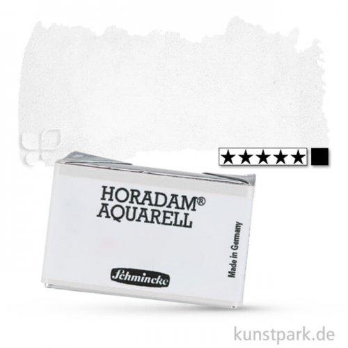 Schmincke HORADAM Aquarellfarben 1/1 Napf   101 Titan Deckweiß