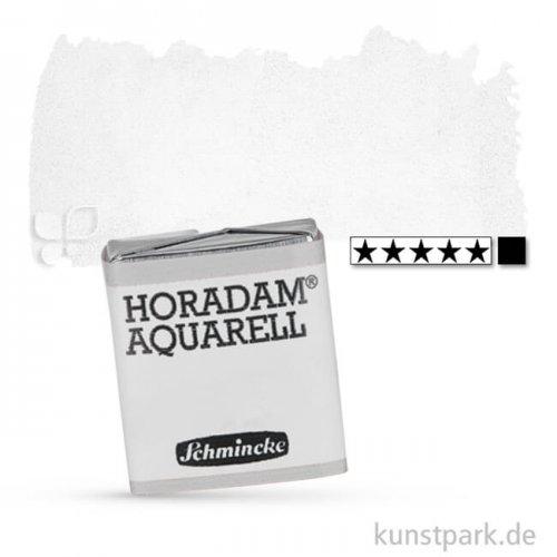 Schmincke HORADAM Aquarellfarben 1/2 Napf | 101 Titan Deckweiß