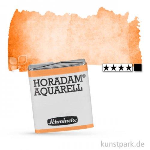 Schmincke HORADAM Aquarellfarben 1/2 Napf   228 Kadmiumorange dunkel