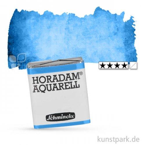 Schmincke HORADAM Aquarellfarben 1/2 Napf   480 Bergblau