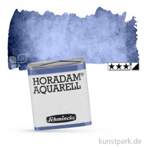Schmincke HORADAM Aquarellfarben 1/2 Napf   498 Tiefblau Indigo