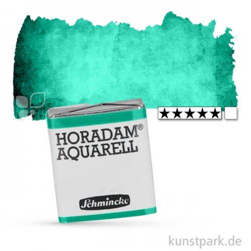 Schmincke HORADAM Aquarellfarben 1/2 Napf   511 Chromoxidgrün feurig
