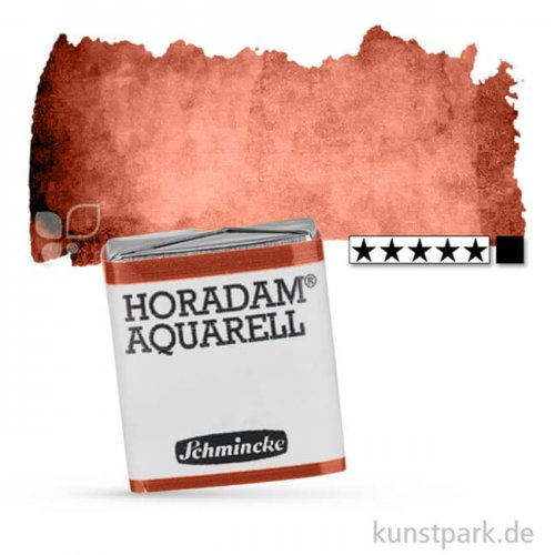 Schmincke HORADAM Aquarellfarben 1/2 Napf | 649 Englisch-Venezian Rot