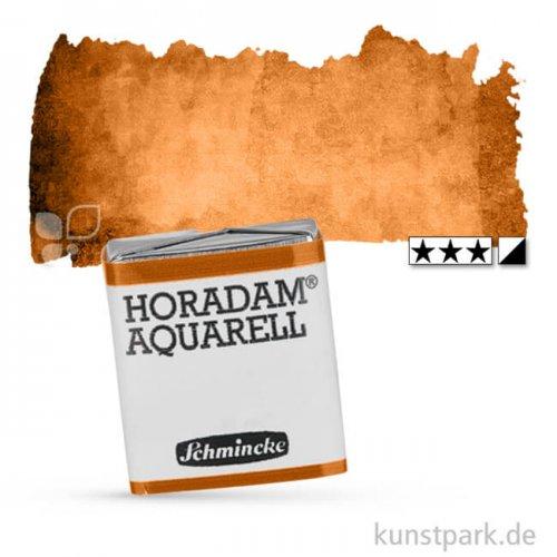 Schmincke HORADAM Aquarellfarben 1/2 Napf | 654 Goldbraun