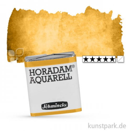 Schmincke HORADAM Aquarellfarben 1/2 Napf | 656 Lichter Ocker natur