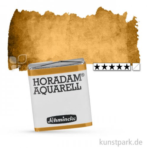 Schmincke HORADAM Aquarellfarben 1/2 Napf | 660 Siena natur