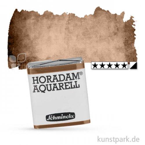 Schmincke HORADAM Aquarellfarben 1/2 Napf   668 Umbra gebrannt