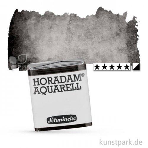 Schmincke HORADAM Aquarellfarben 1/2 Napf | 780 Elfenbeinschwarz