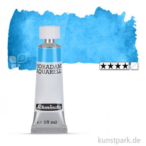 Schmincke HORADAM Aquarellfarben Tube 15 ml   483 Kobalt Azur
