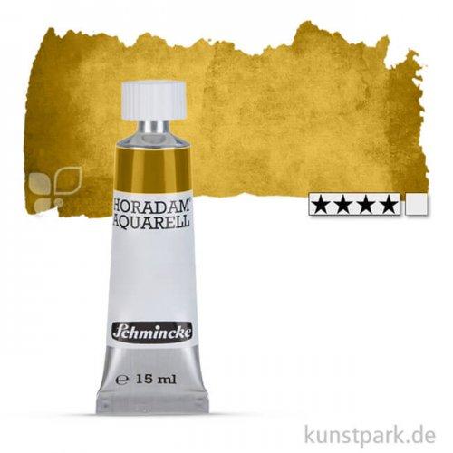 Schmincke HORADAM Aquarellfarben Tube 15 ml   537 Lasurgoldgrün