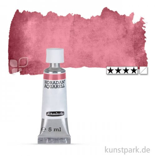 Schmincke HORADAM Aquarellfarben Tube 5 ml | 370 Potters Pink