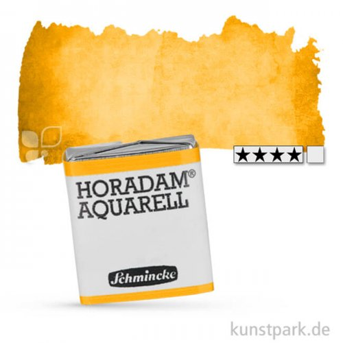 Schmincke HORADAM Aquarellfarben 1/2 Napf   222 Gelborange