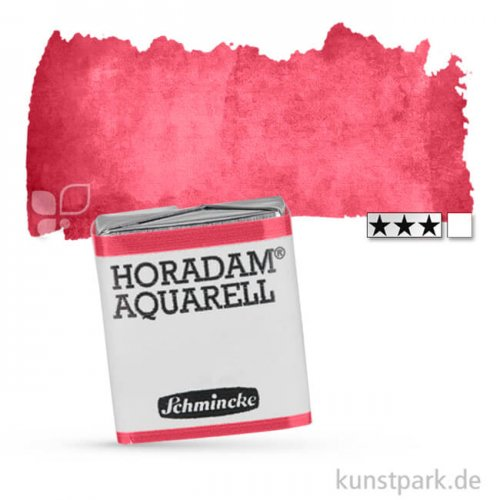Schmincke HORADAM Aquarellfarben 1/2 Napf | 362 Bordeauxrot