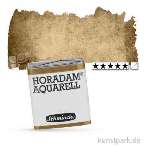Schmincke HORADAM Aquarellfarben 1/2 Napf   665 Umbra grünlich